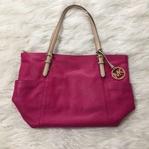 Fuchsia Michael Kors purse
